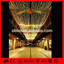simple design LED project motif light/christmas light/street decor light street net light