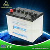 dry charged car battery N50 all kinds of dry car batteries Made in china