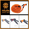 Expanding Green Blue Flexible Light Garden Water Hose + Nozzle 25 50 75 100 Pocket Style Coil Hose space saver hose