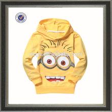 wholesale kid cute cartoon printing children hoodies