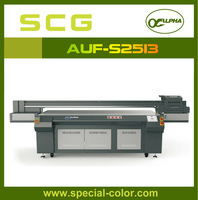 Large format 3D effect use eco uv curing inks flatbed printer
