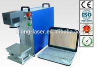 10W Portable Plastic Translucent Keys Fiber Laser Marker , 10% off hot sale metal laser marking machine BLJG-300 in stock