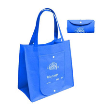 polypropylene foldable recycle customized cheap non woven foldable bags