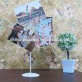 جهاز عرض جهاز عرض الصور صورة معدنية الأحجار الكريمة-- لجلب الحظ السعيد