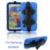 silicone heavy duty military hybrid rugged belt clip holster kickstand shockproof weterproof case for samsung galaxy s5/i9600