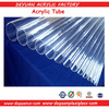 100% virgin acrylic hollow clear casting tube with SGS, ISO9001