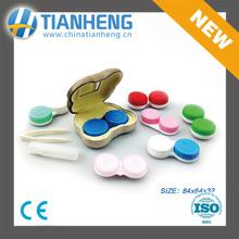 Panda contact-lens case small mini glasses case cheap high quality less moq 2015 CHINA SIGN