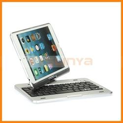 360 Degree Rotating Bluetooth Keyboard For iPad Mini Mini 2 Bluetooth Keyboard Case