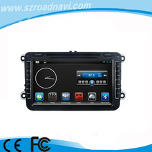 Pure Android Dual Can Bus Car DVD Headunit with GPS Navi Digital TV for VW Volkswagen Skoda