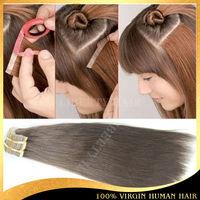 Wholesale virgin peruvian hair express,Hot sale tape hair extensions,peruvian human hair extensions