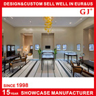 Professional jewellery showroom designs with display furniture