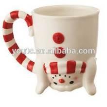 porcelain cat shape print mug/factory directly production mug/2014 new design coffee mug
