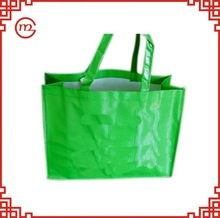 Portable eco-friendly recycled green bag