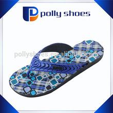 Hard PVC form men colorful design sexy summer sandal