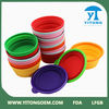 High Quality Plastic Dog Bowls Foldable Pet Travel Bowls