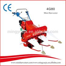 HOT sale gasoline engine drive machine reaper farming tool