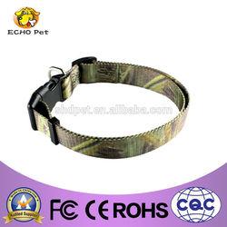 Nylon camo dog collar and leash