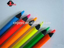 Rich color fluorescent colored pencil for school