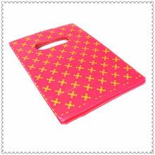 Custom printing die cut shopping bag