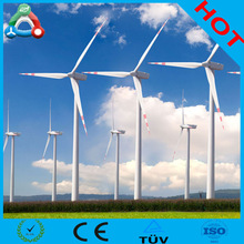 50KW New Variable Pitch 3-Phase PM Horizontal Axis Wind Turbine Generator With Hydraulic Tower