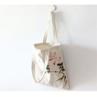 Hot Sale city name canvas tote bag for packaging