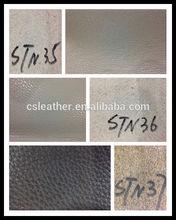 stocklot cow pu split leather for sofa