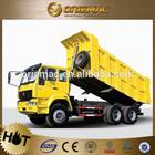 Sinotruk Howo 6x4 truck load of sand