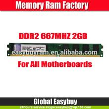 Fast delivery 8bits desktop 2gb ram card ddr2