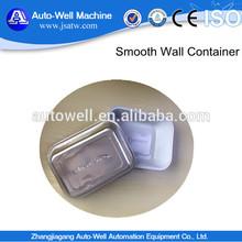 Sealable and Retortable Disposable Smooth Wall Aluminium Foil Dish