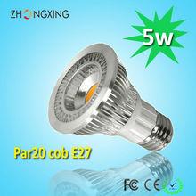 LED recessed lighting 5w cob reflector led par20 led spotlight ra>80 replacement 60W halogen lamp
