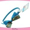 Blue ribbon bowknot hair accessories,girls ribbon bow hair band girls headband