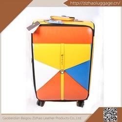2014 New arrival hot sale aluminum frame bags trolley case suit case