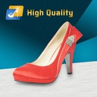 Promotion New Arrival High Heels Red Diamond Women Shoes