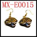 jacksonville jaguars nfl pendientes colgantes
