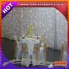 ESI factory direct LED star curtain, wedding decoration,white backdrop light