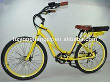 comfortable yellow 49cc mini pocket bike