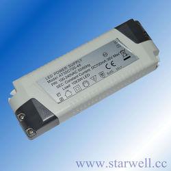 EN61347 CE FCC C-TICK Listed 40W 350mA constant current led light driver