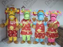 hot sale festival horse mascot costumes party