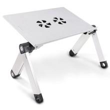 Heavyweight Black Storage Folding Lap Desk/ Light Great For Computers