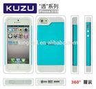 Kuzu high quality fashion design cheap mobile phone case for apple iphone 5/5s case TPU china supplier