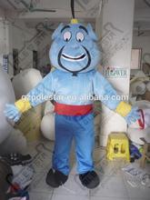 Beard blue business man mascot costumes