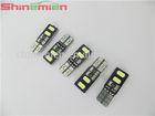 T10 4 x SMD 5630 LED 2-Mode White Light Flash Error Free Canbus