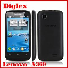 Unlock Lenovo Cheap Wholesale Phone Lenovo A369 Smartphone 4.0 inch Dual Core MTK6572 Dual Sim 3G Android Mobile Phone