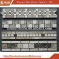 clásico de nueva diseño de mosaico de mármol de zócalos y las fronteras