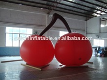 inflatable cherry/ customized inflatable cherry for event/ inflatable advertising cherry balloon