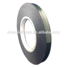 1.5mm black double side waterproof PE foam adhesive tape