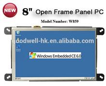 Open frame 8 Inch Windows Tablet RS232, Ethernet Port