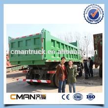 10 wheeler 25 ton tipper sino trucks right hand driving