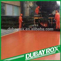 Iron Oxide Red pigment colored asphalt