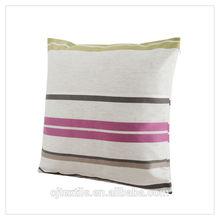 2014 Fashion home decorative polyester yarn dyed body cushions
